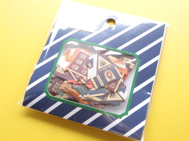 Photo1: Winter Selection Sticker Flakes Sack Mind Wave *House (75444)
