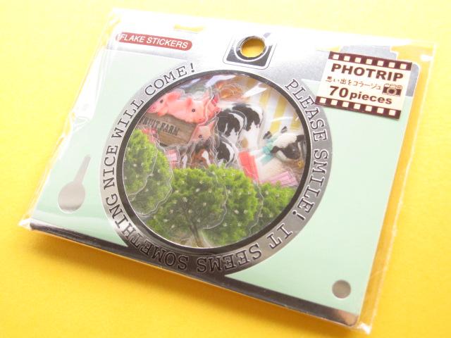 Photo1: PHOTRIP Sticker Flakes Sack Q-LiA *Farm (81333)