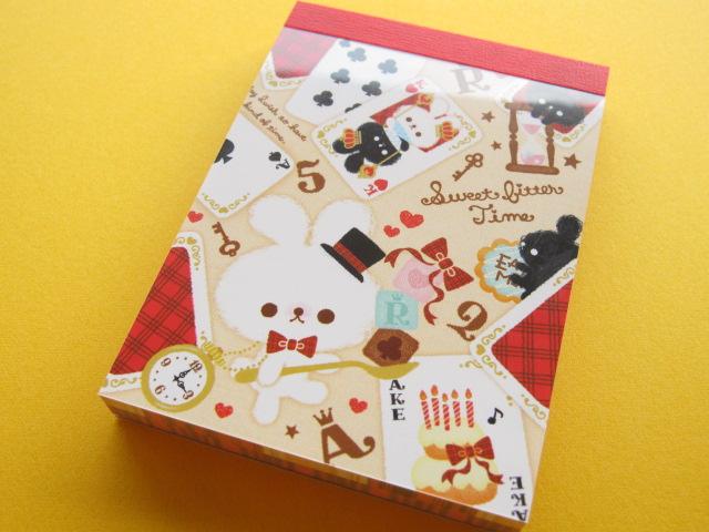 Photo1: Kawaii Cute Mini Memo Pad Q-LiA *Sweet Bitter Time (84436)