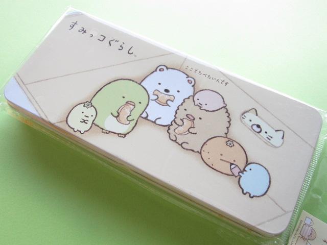 Photo1: Kawaii Cute Versatile Tin Case/Box San-x *Sumikkogurashi (SG-5516771UP)