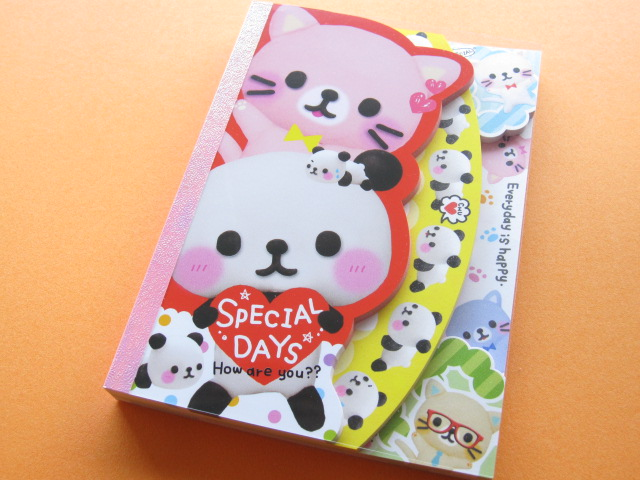 Photo1: Kawaii Cute Large Memo Pad Q-LiA *SPECIAL DAYS (80558)