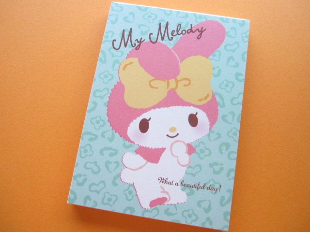 Photo1: Kawaii Cute Large Memo Pad Sanrio Japan Exclusive *My Melody (15132)