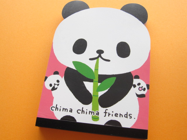 Photo1: Kawaii Cute Large Memo Pad Crux *chima chima friends (01725)