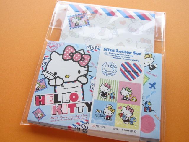 Photo1: Kawaii Cute Mini Letter Set Sanrio Japan Exclusive *Hello Kitty (S 2032830)