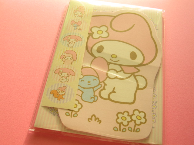 Photo1: Kawaii Cute Mini Letter Set die-cut Sanrio Japan Exclusive *My Melody Surprise (S2036452)