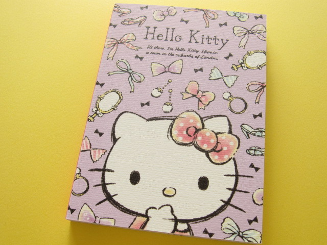 Photo1: Kawaii Cute Large Memo Pad Sanrio Japan Exclusive *Hello Kitty (15016)