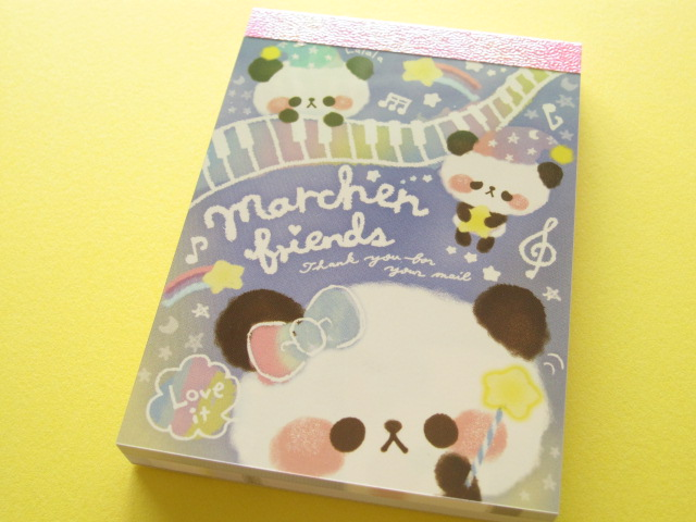 Photo1: Kawaii Cute Mini Memo Pad Q-LiA *Marchen friends (90271)