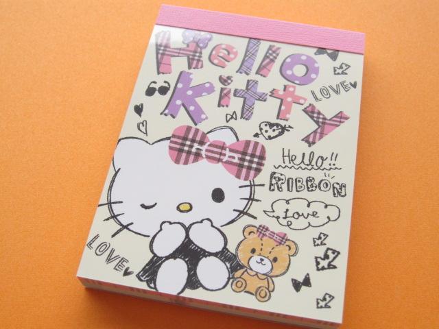 Photo1: Kawaii Cute Mini Memo Pad Sanrio Japan Exclusive *Hello Kitty (11283)