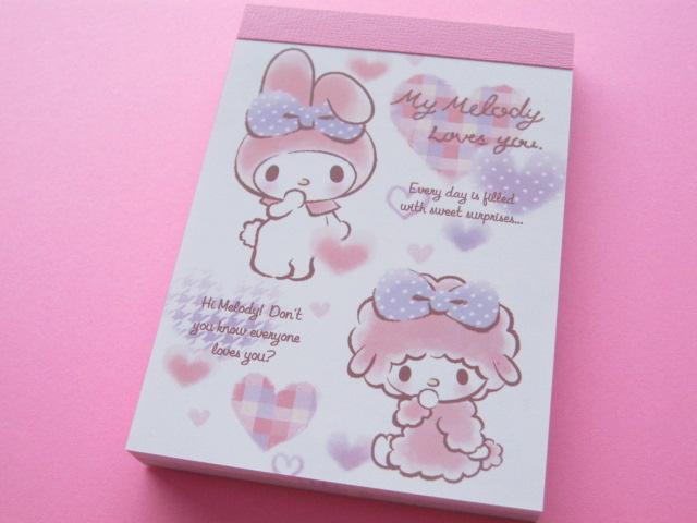 Photo1: Kawaii Cute Mini Memo Pad Sanrio Japan Exclusive *My Melody (60404)