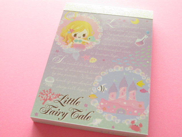 Photo1: Kawaii Cute Mini Memo Pad Q-LiA *Little Fairy Tale (94025)