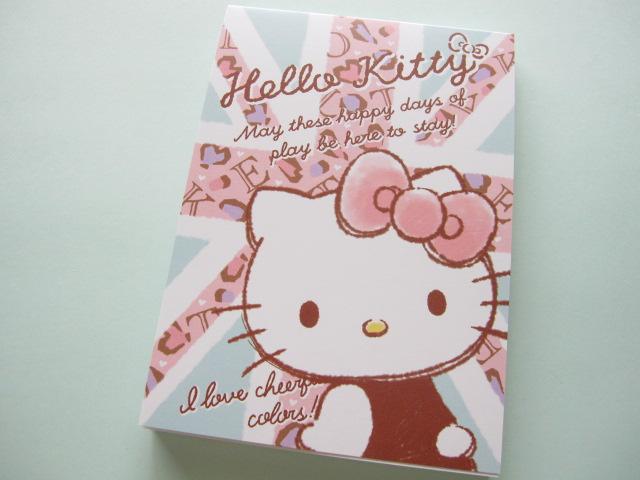 Photo1: Kawaii Cute Large Memo Pad Sanrio Japan Exclusive *Hello Kitty (64123)