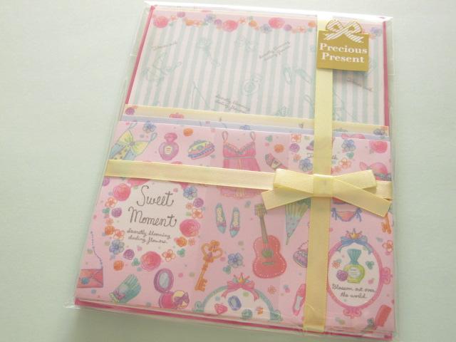 Photo1: Kawaii Cute Letter Set Q-LiA *Sweet Moment (90337)