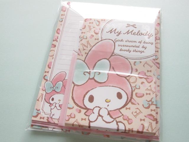 Photo1: Kawaii Cute Letter Set Sanrio Japan Exclusive *My Melody (64122)