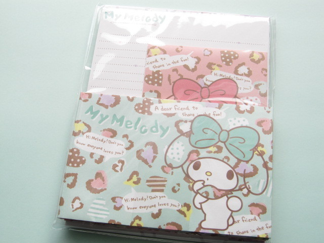 Photo1: Kawaii Cute Letter Set Sanrio Japan Exclusive *My Melody (11194)