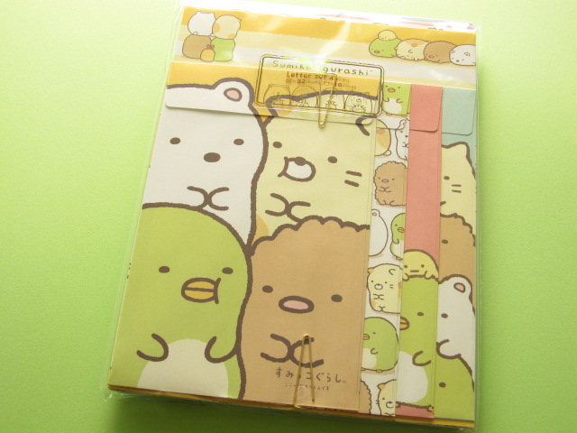 Photo1: Kawaii Cute Letter Set San-x *Sumikkogurashi (LH 49601)