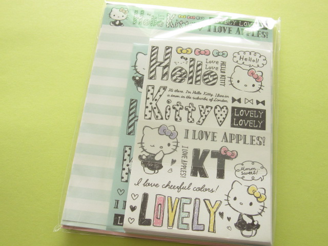 Photo1: Kawaii Cute Letter Set Sanrio Japan Exclusive *Hello Kitty (15013)