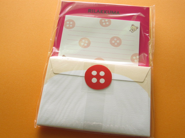 Photo1: Kawaii Cute Letter Set San-x *Korilakkuma Rilakkuma (LH 49001)