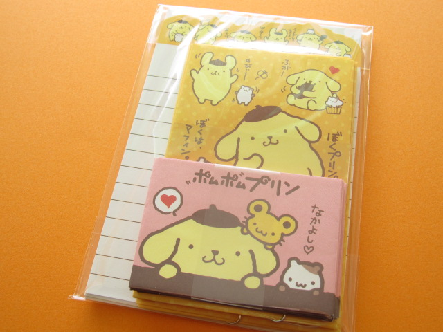 Photo1: Kawaii Cute Mini Letter Set Sanrio *POMPOMPURIN (66696)