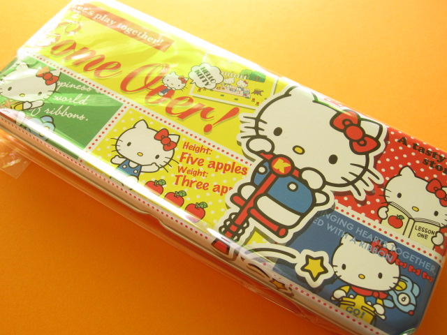 Photo1: Kawaii Cute Tin Pen/Pencil Case/Box Sanrio *Hello Kitty (S1602063)
