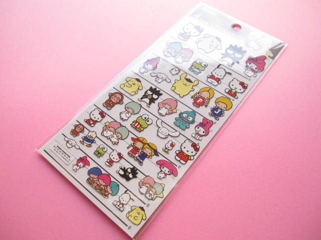 Photo1: Kawaii Cute Stickers Sheet Sanrio  *Sanrio Characters (60731)