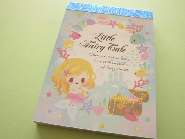 Photo1: Kawaii Cute Mini Memo Pad Q-LiA *Little Fairy Tale (94434)