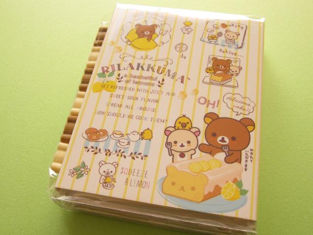 Photo1: Kawaii Cute Mini Memo Pad w/ Erasers Set San-x *Rilakkuma (MM 30901)