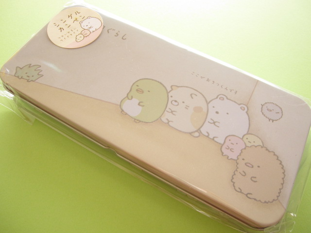 Photo1: Kawaii Cute Versatile Tin Case/Box San-x *Sumikkogurashi (PY34601)