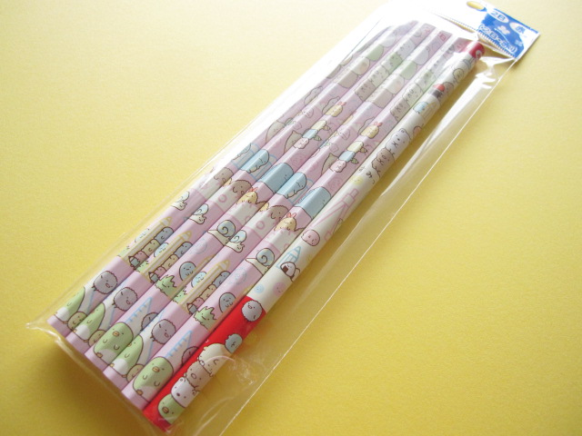 Photo1: 6 pcs Kawaii Cute Wooden Pencils Set San-x *Sumikkogurashi (PN85801)