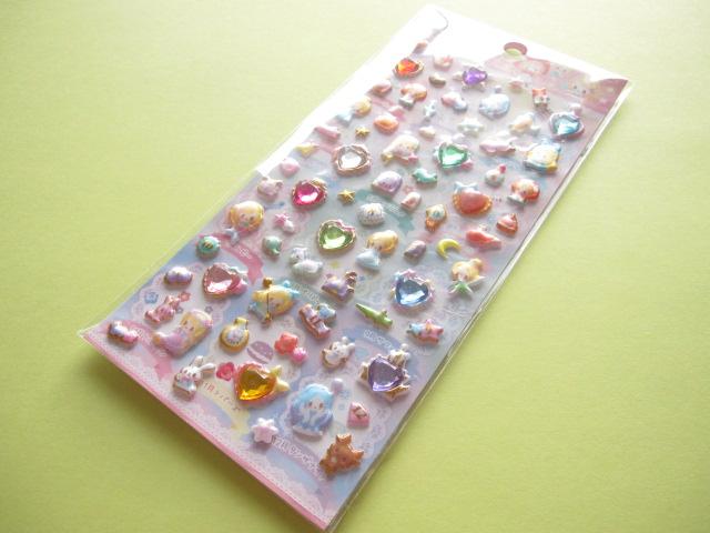 Photo1: Kawaii Cute Candy Sticker Sheet Q-LiA *Little Fairly Tale Birthday (91360)