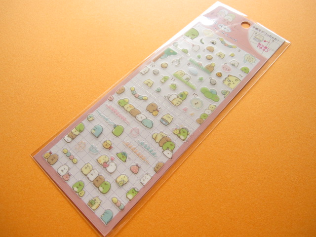 Photo1: Kawaii Cute Deco Sticker Sheet San-x *Sumikkogurashi (SE24905)