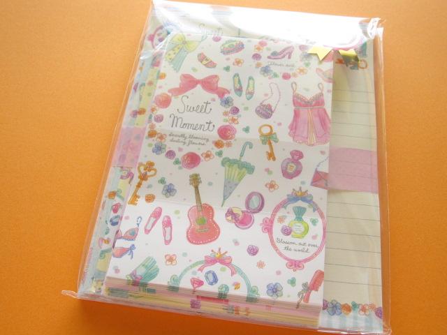Photo1: Kawaii Cute Letter Set Q-LiA *Sweet Moment (90595)