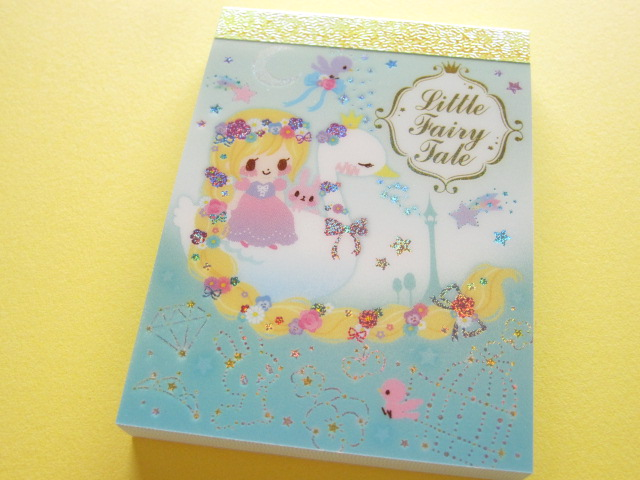 Photo1: Kawaii Cute Mini Memo Pad Q-LiA *Little Fairy Tale (94870)