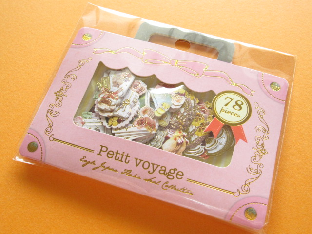 Photo1: Petit Voyage Sticker Flakes Sack Eagle Japan *Petit Ange (GS372)