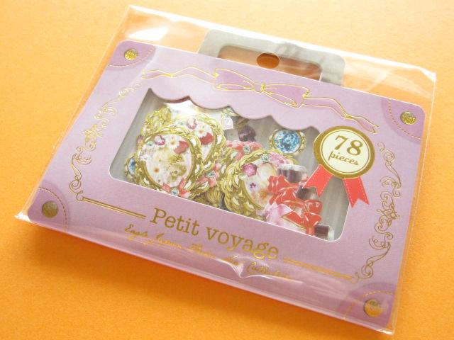 Photo1: Petit Voyage Sticker Flakes Sack Eagle Japan *Romantic Girly (GS370)