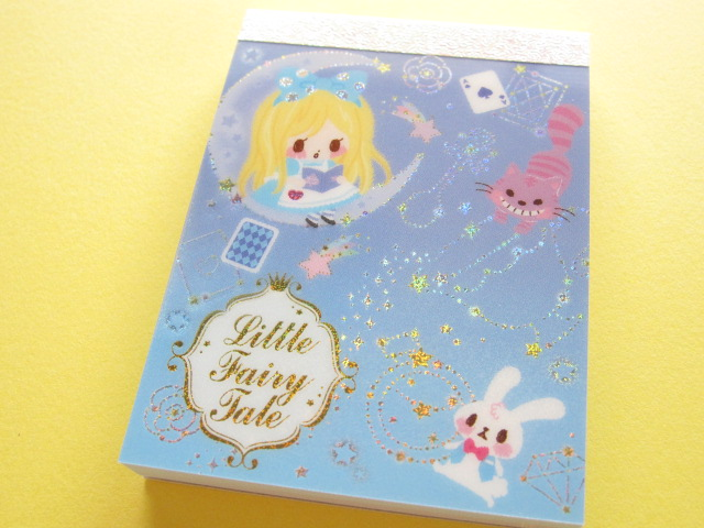 Photo1: Kawaii Cute Mini Memo Pad Q-LiA *Little Fairy Tale (94869)