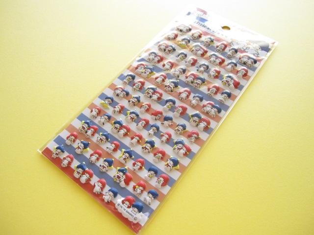 Photo1: Kawaii Cute Puffy Stickers Sheet  Sanrio Japan Exclusive *Little Twin Stars (11139)