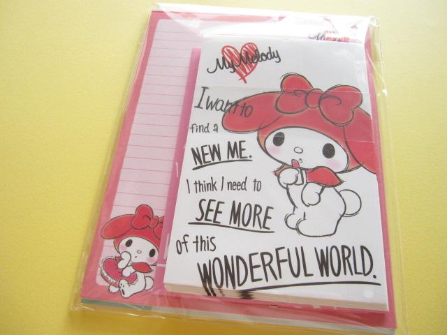 Photo1: Kawaii Cute Letter Set Sanrio Japan Exclusive *My Melody (20266)