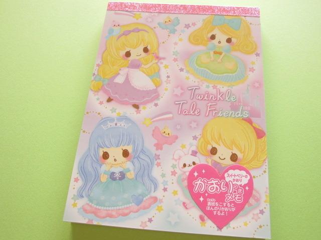 Photo1: Kawaii Cute Large Memo Pad Crux *Twinkle Tale Friends  (08115 )