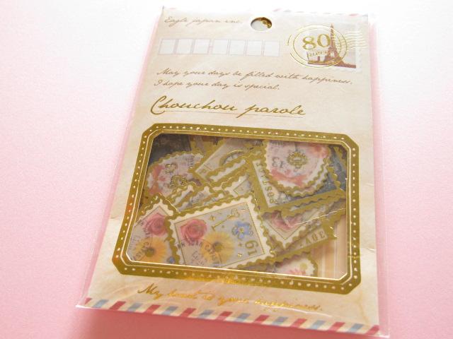 Photo1: Chouchou Parole  Sticker Flakes Sack Eagle Japan *Stamp (CP395)