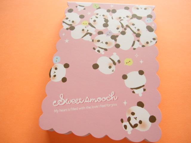 Photo1: Kawaii Cute Large Memo Pad Q-LiA *Sweet smooch (00105)
