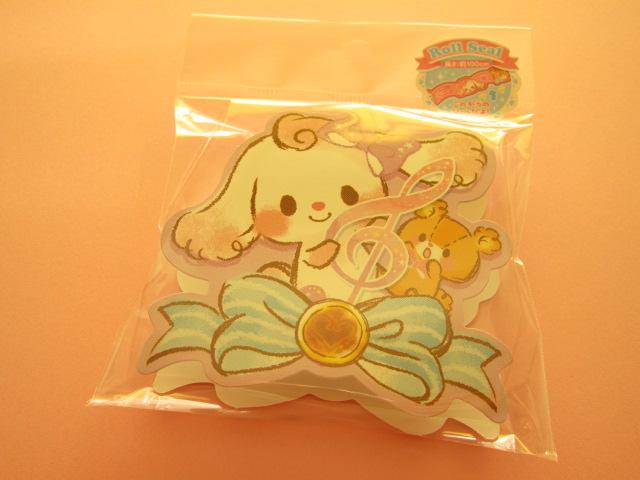 Photo1: Kawaii Cute Roll Seal Deco Tape Sticker Crux *Girly Lop (05286)