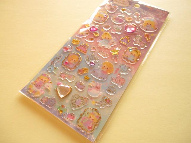 Photo1: Kawaii Cute Kira Kira Lumiere Sticker Sheet Q-LiA *Little Fairy Tale (01132)