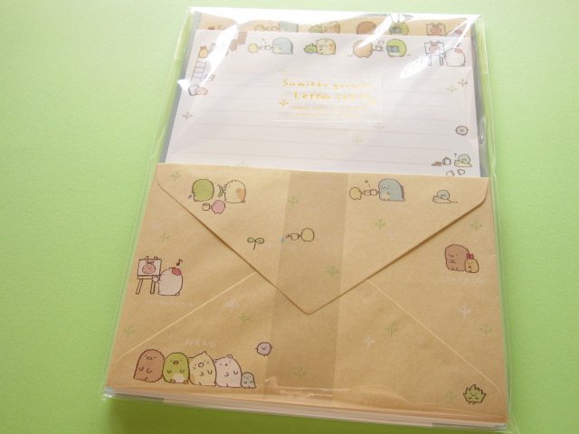 Photo1: Kawaii Cute Letter Set San-x *Sumikkogurashi  Natural Sumikko (LH55401)