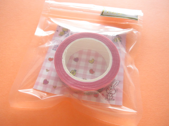 Photo1: Kawaii Cute Masking Tape/Deco Tape Sticker Crux *Ado Mizumori (05309)