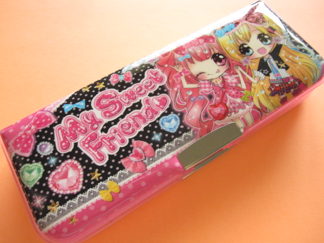 Photo1: Kawaii Cute Pencil/Pen Case/Box Crux *My Sweet Friend