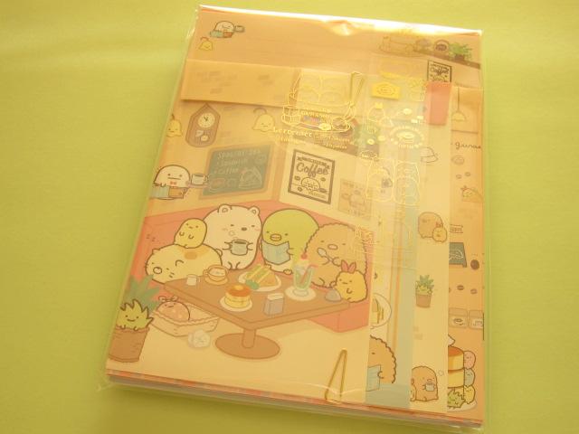 Photo1: Kawaii Cute Letter Set San-x *Sumikkogurashi 喫茶すみっコ (LH55501)
