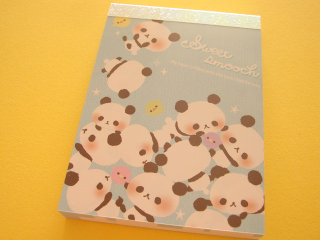 Photo1: Kawaii Cute Mini Memo Pad Q-LiA *Sweet smooch (04231)