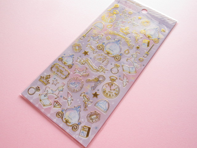 Photo1: Kawaii Cute Best Fancy Sticker Sheet Q-LiA *Enchanted Love (01235)