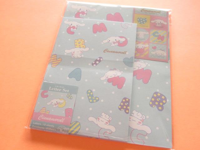 Photo1: Kawaii Cute Letter Set Sanrio Japan Exclusive Cinnamoroll  *Alphabet