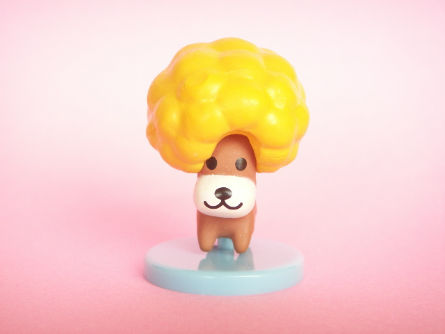 Photo1: Kawaii Cute San-x character mini figure collection *Afro Ken Yellow